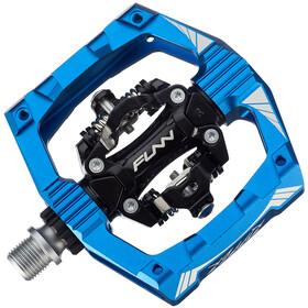 FUNN Ripper Pedali Con Clip Su Entrambi I Lati, blue
